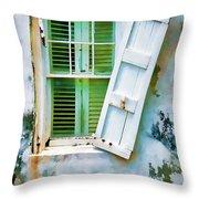St Thomas - Window 1 Throw Pillow