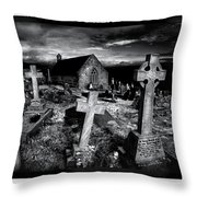 St Tudno's Church Throw Pillow