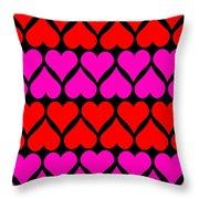 St. Valentine Love Throw Pillow