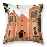 St Vincent De Paul Catholic Church Throw Pillow