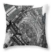 St. Vitus Cathedral 1 Throw Pillow