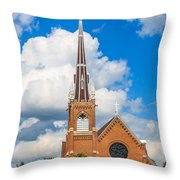 St Wenc On A Bright Summer Day Throw Pillow