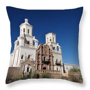 St. Xavier's Mission Throw Pillow
