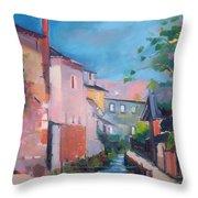St Yrieux La Perche  Throw Pillow
