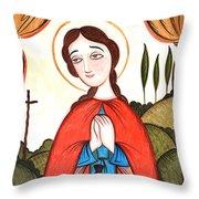 St. Zita - Aozit Throw Pillow