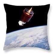 Stabilizing Spacecraft Throw Pillow