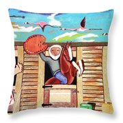 Stable Of Artists Throw Pillow