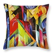 Stables 1913 Throw Pillow
