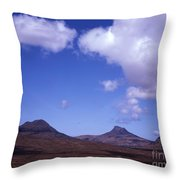 Stac Pollaidh Inverpolly National Nature Reserve Wester Ross Scotland Throw Pillow