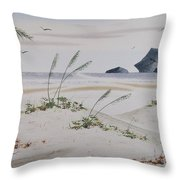 Stacks And Oats 1 Throw Pillow