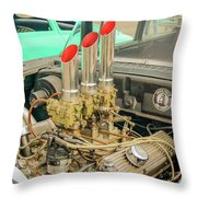 Stacks Throw Pillow