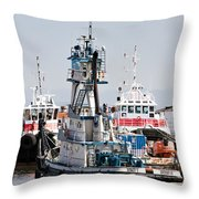 Stacy T Docking Throw Pillow