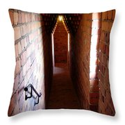 Stadhuset's Corridor Throw Pillow