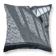 Stadium Abstract Throw Pillow