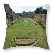 Stadium Of Domitian Throw Pillow