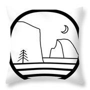 Staff Logo Throw Pillow