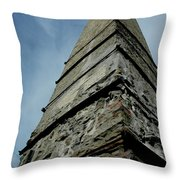 Stafford Park Historical Chimney Throw Pillow