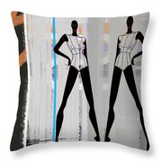 Stage Space Throw Pillow