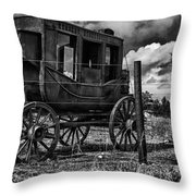 Stagecoach II Throw Pillow