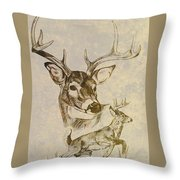 Stagged Throw Pillow