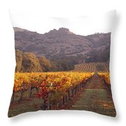 Stags Leap Wine Cellars Napa Throw Pillow