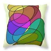 Stained Throw Pillow