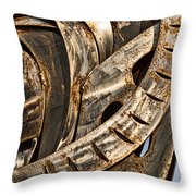 Stainless Abstract Throw Pillow