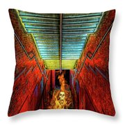 Staircase Into Hell Throw Pillow