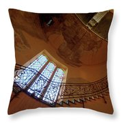 Stairway To Heaven Throw Pillow by Enrico Pelos