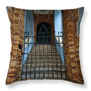 Stairs Beyond Throw Pillow