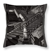 Stairs In The Markethall  Throw Pillow