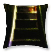 Stairs To The Madwoman's Attic Throw Pillow