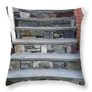 Stairs To The Plague House Throw Pillow