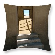 Stairs To The Sky Throw Pillow