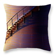 Stairway Abstraction Throw Pillow