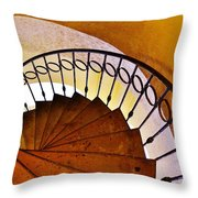 Stairway In Cabo Throw Pillow