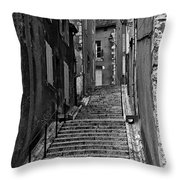 Stairway In France Throw Pillow