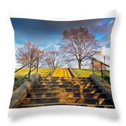 Stairway To Federal Hill Throw Pillow
