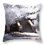 Stairway To Heaven Throw Pillow by Helga Novelli