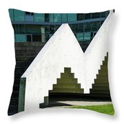 Stairway To Higher Learning Throw Pillow
