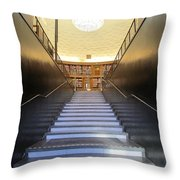 Stairway To Knowledge Throw Pillow