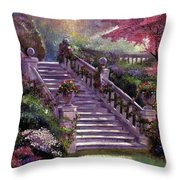 Stairway To My Heart Throw Pillow
