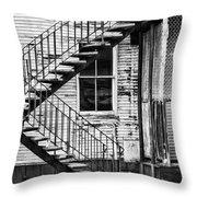 Stairway To Nowhere Throw Pillow