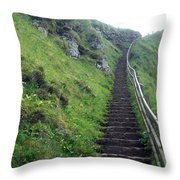 Stairway To... Throw Pillow