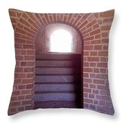 Stairway To The Sun Throw Pillow