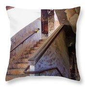 Stairway To Yesterday Throw Pillow