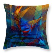 Stairway Upon Grail Passeges Throw Pillow