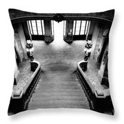 Stairway V Throw Pillow