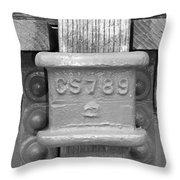 Stake Pocket Throw Pillow