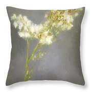 Stalk Of Pearls Throw Pillow